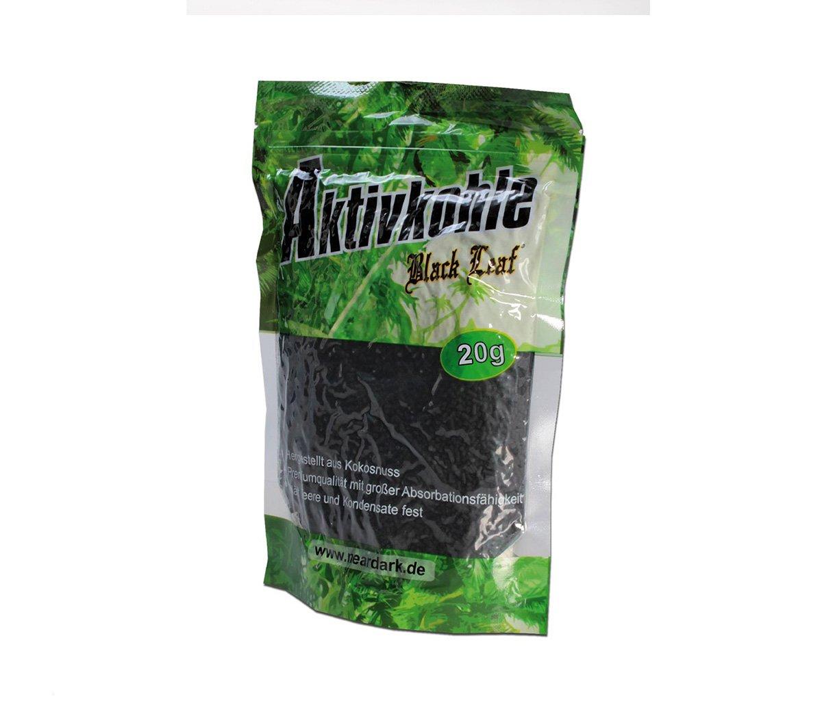Black Leaf Activated Carbon 20 gr - Waterpijp-bong.nl