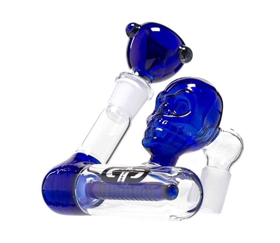 Blue Skull GG Precooler 1 x 12 Slit Diffuser - Waterpijp-bong.nl