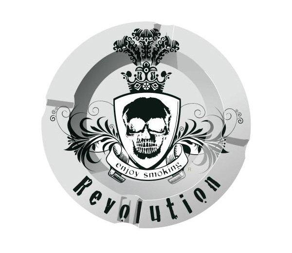 Enjoy Smoking Revolution Asbak - Waterpijp-bong.nl