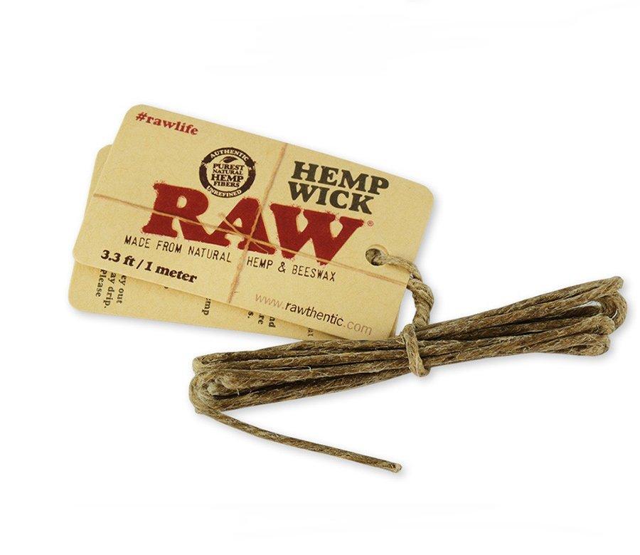RAW Hemp Wick small 100 cm