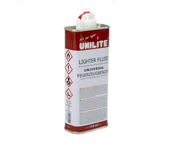 Aansteker benzine Unilite 133ml - www.waterpijp-bong.nl