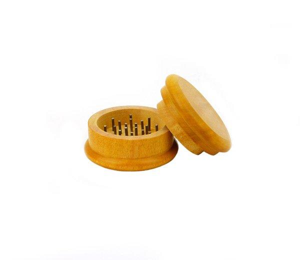 Houten Grinder Plain 5cm bruin