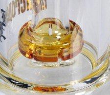 BL Microperc Oil Drum Percolator Bong Amber - Waterpijp-bong.nl
