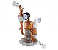 Black Leaf Galileo's SteamOmeter Recycler Dab Rig - Waterpijp-bong.nl
