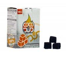 CoCo DUD 100% Natural 1Kg 72 Cube pcs - Waterpijp-bong.nl
