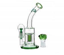 Green Saxo GG Bubbler Oil Vapor Dome en Bowl