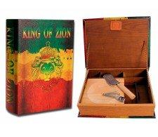 Kavatza Stash Book King of Zion XXL - Waterpijp-bong.nl