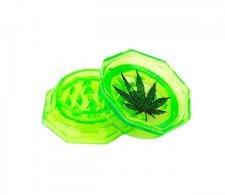 Grinder Leaf 53mm 2 parts groen