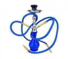 Junior Hookah Waterpijp 2 slangen blauw