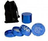 D-SMOKE HQ 4-Parts Grinder Blue