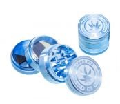Magno Mix Leaf 420 Grinder 4 Parts Blauw