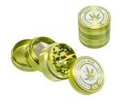 Magno Mix Leaf 420 Grinder 4 Parts Groen