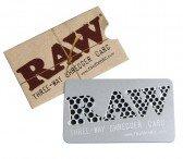 RAW Credit Card Grinder - Tree-way Shredder Card